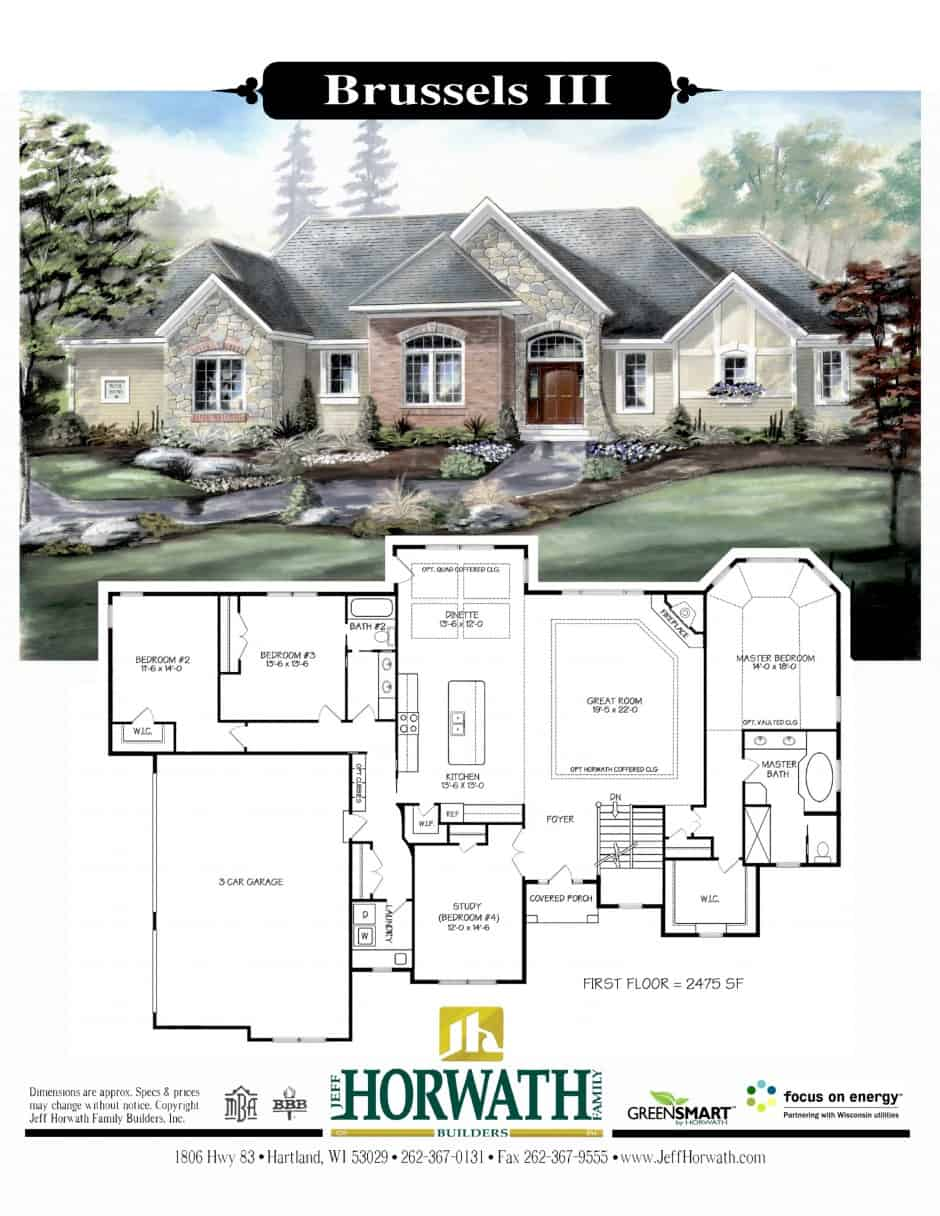 Jeff Horwath Custom Home Plans