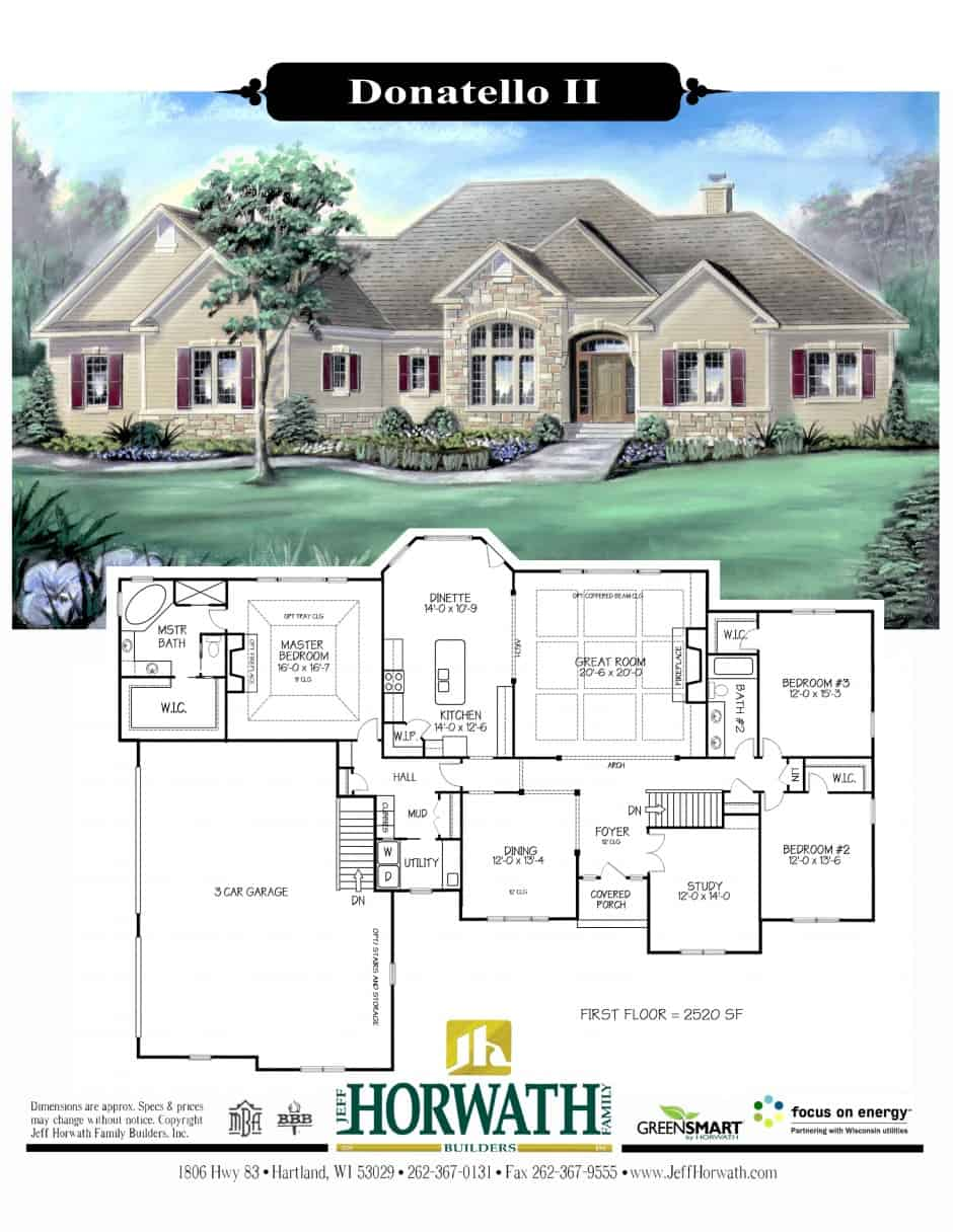 New Home Design Jeff Horwath Home Builder