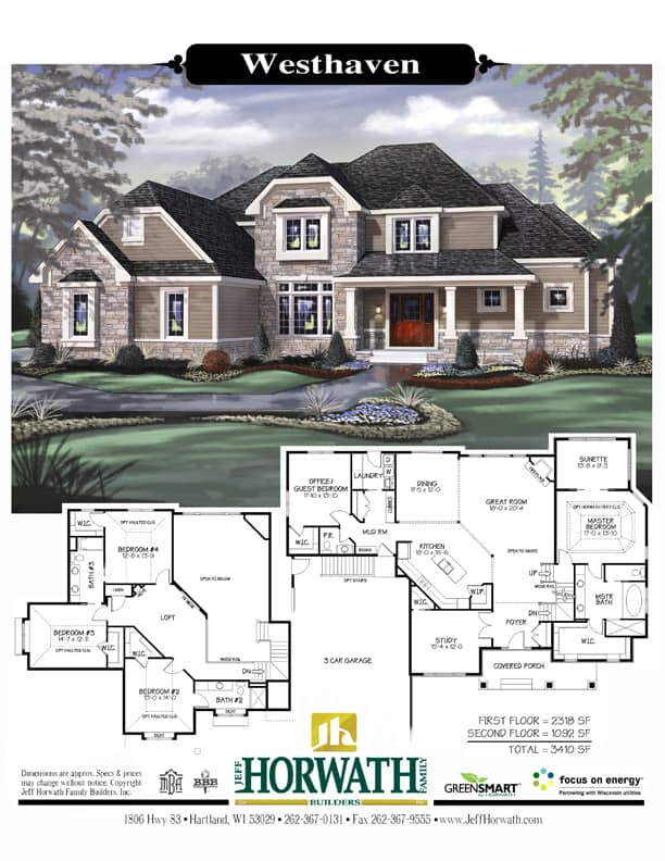 Jess Horwath Custom Home Plans