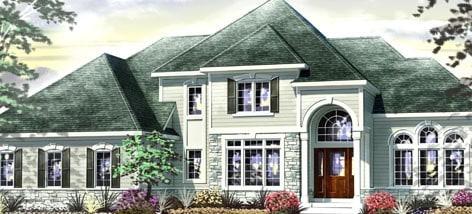 New Custom Home Plan Jeff Horwath